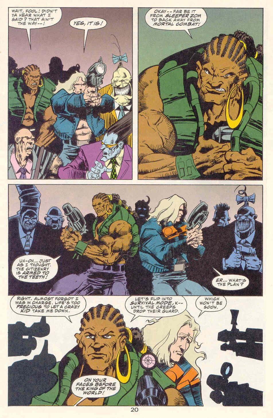 Read online Kamandi: At Earth's End comic -  Issue #2 - 21