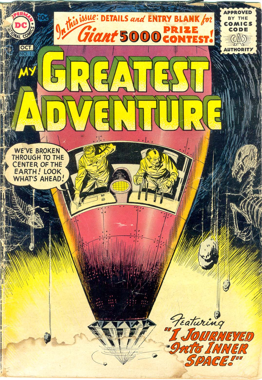 My Greatest Adventure (1955) 11 Page 1