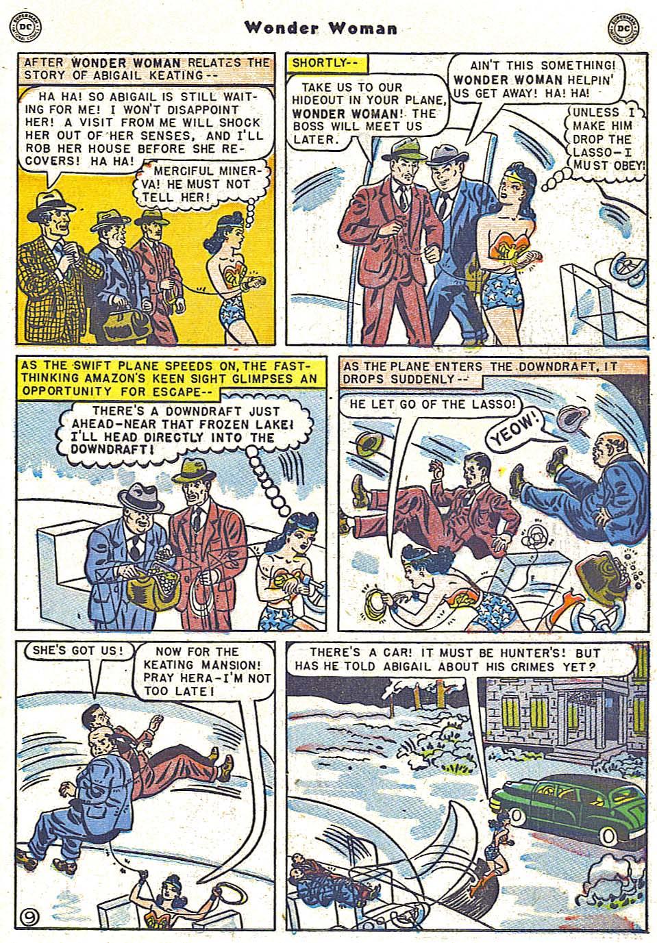 Read online Wonder Woman (1942) comic -  Issue #38 - 11