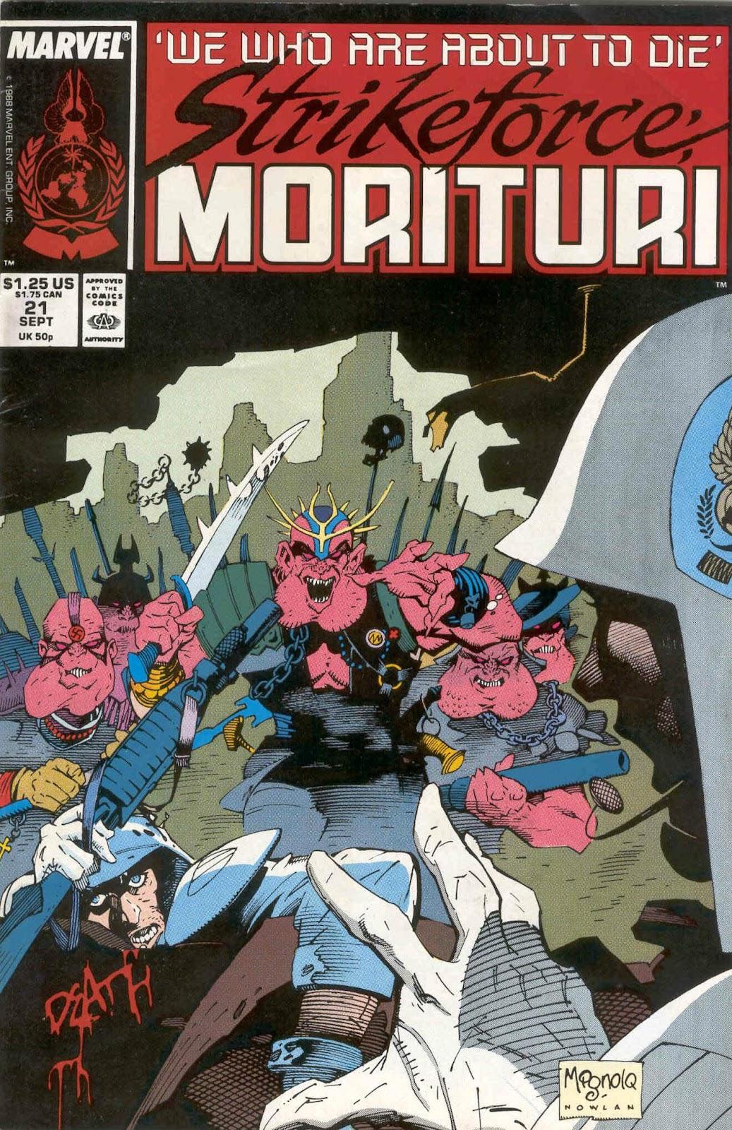 Strikeforce: Morituri 21 Page 1
