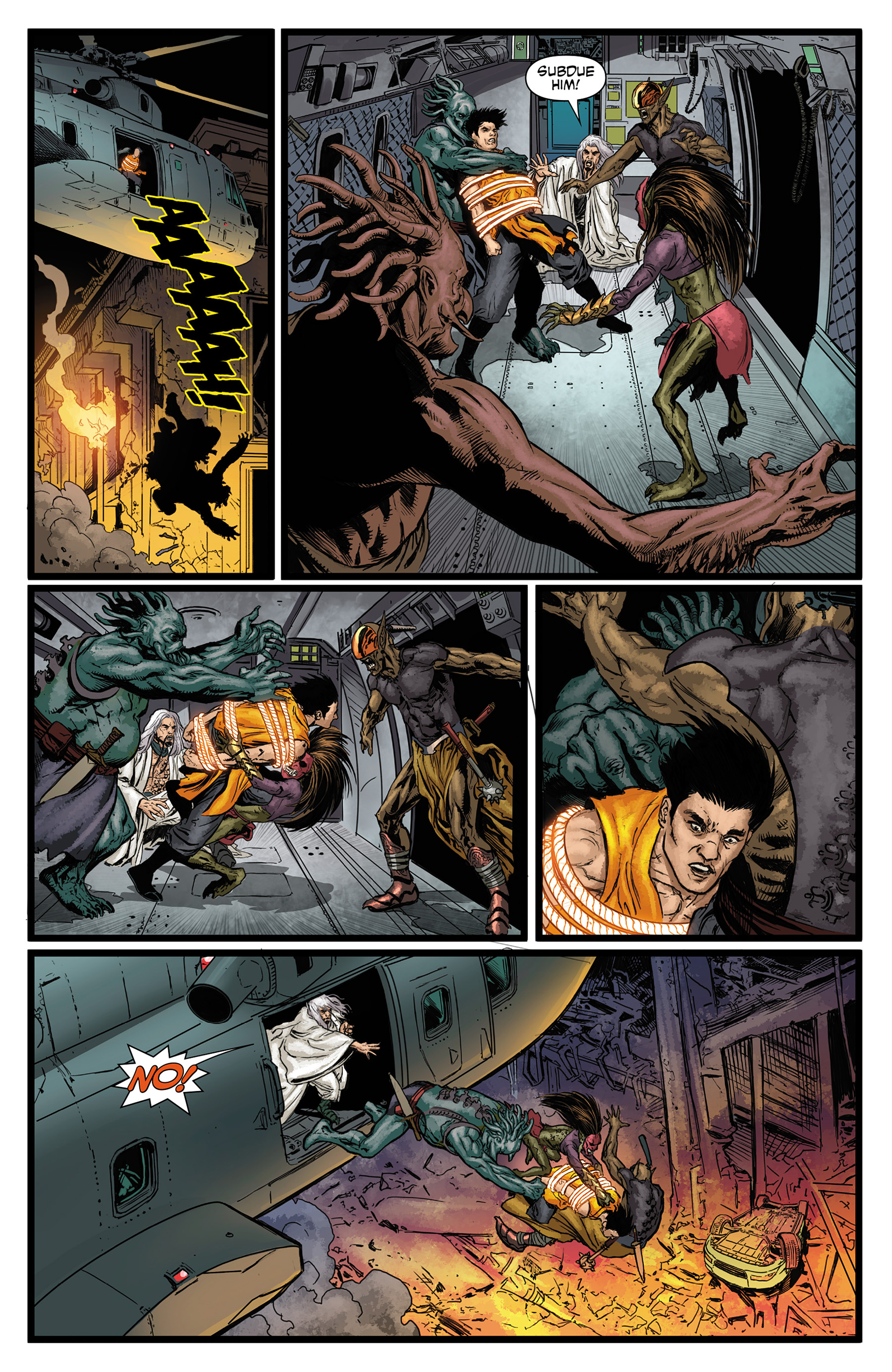 Read online King Tiger comic -  Issue #3 - 6