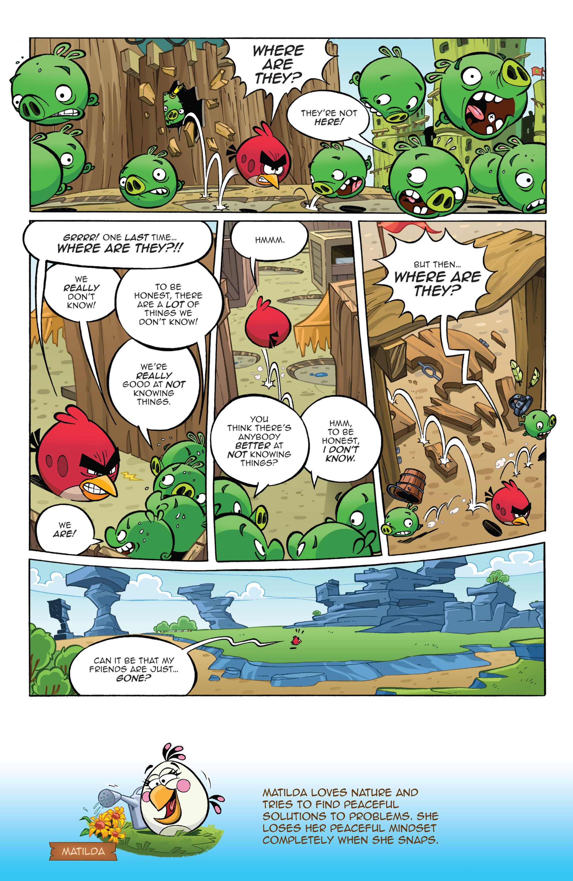 Read online Angry Birds Comics (2016) comic -  Issue #1 - 10