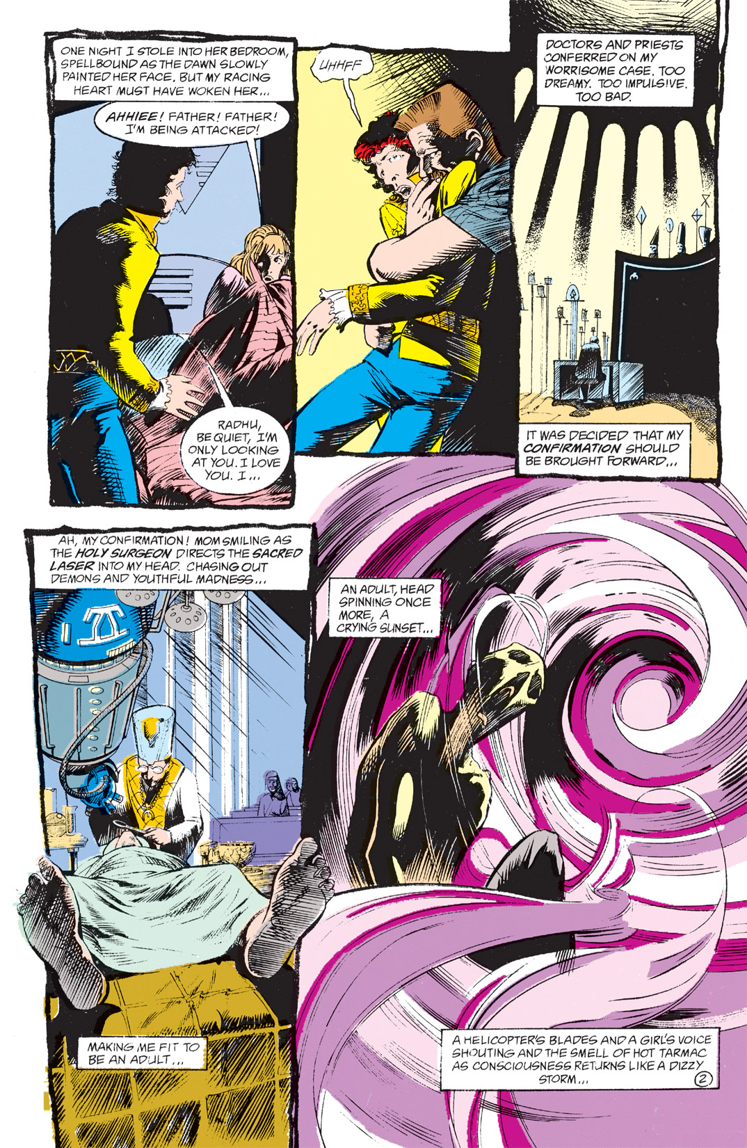 Read online Shade, the Changing Man comic -  Issue #4 - 4