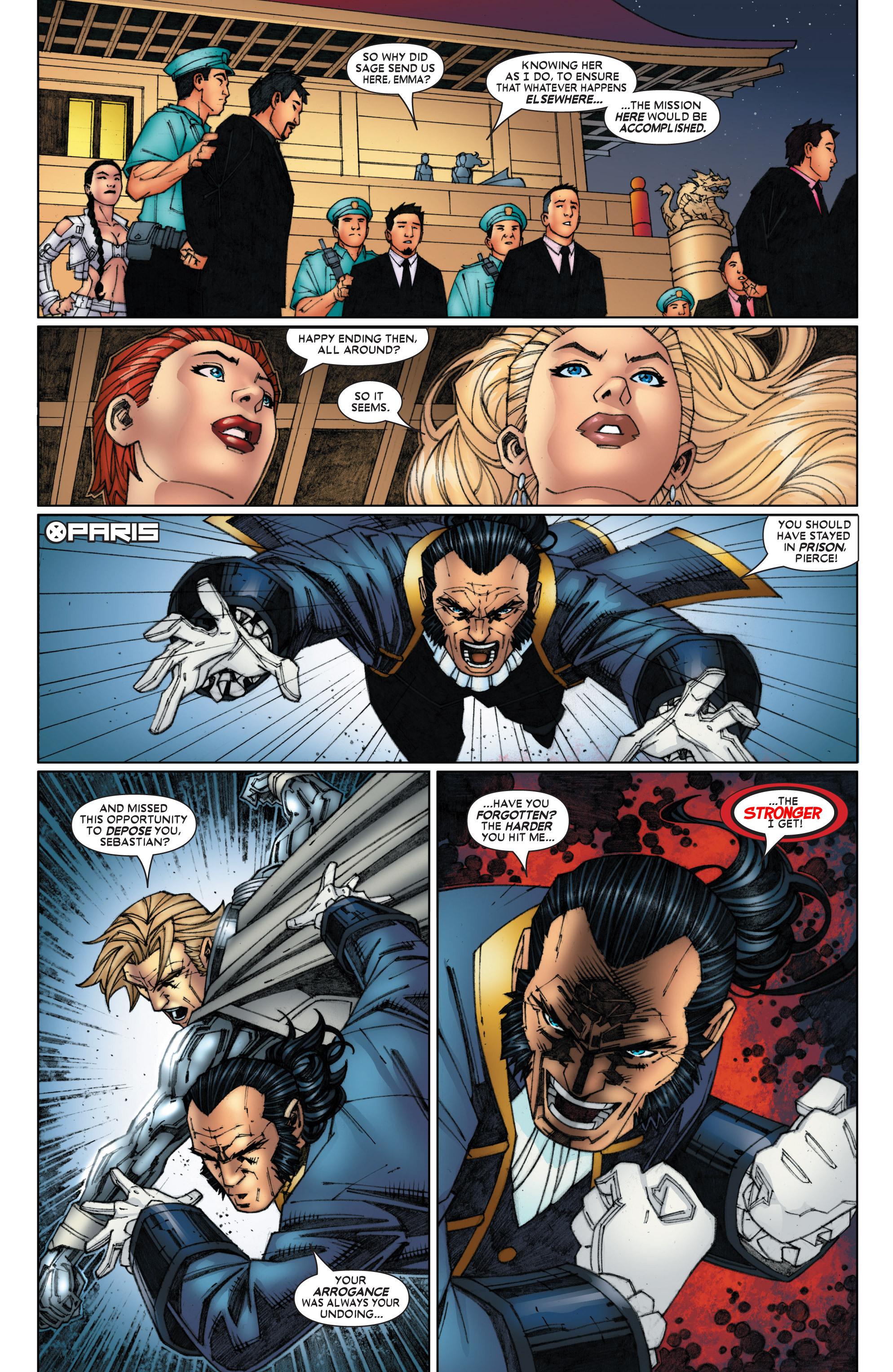 Read online Uncanny X-Men (1963) comic -  Issue #454 - 21