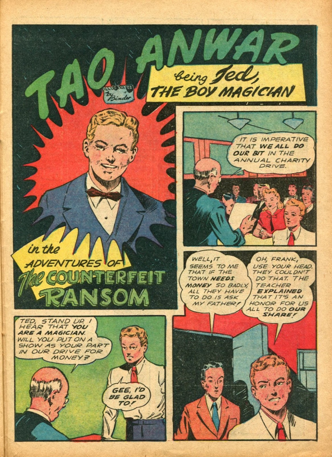 Read online Super-Magician Comics comic -  Issue #5 - 50