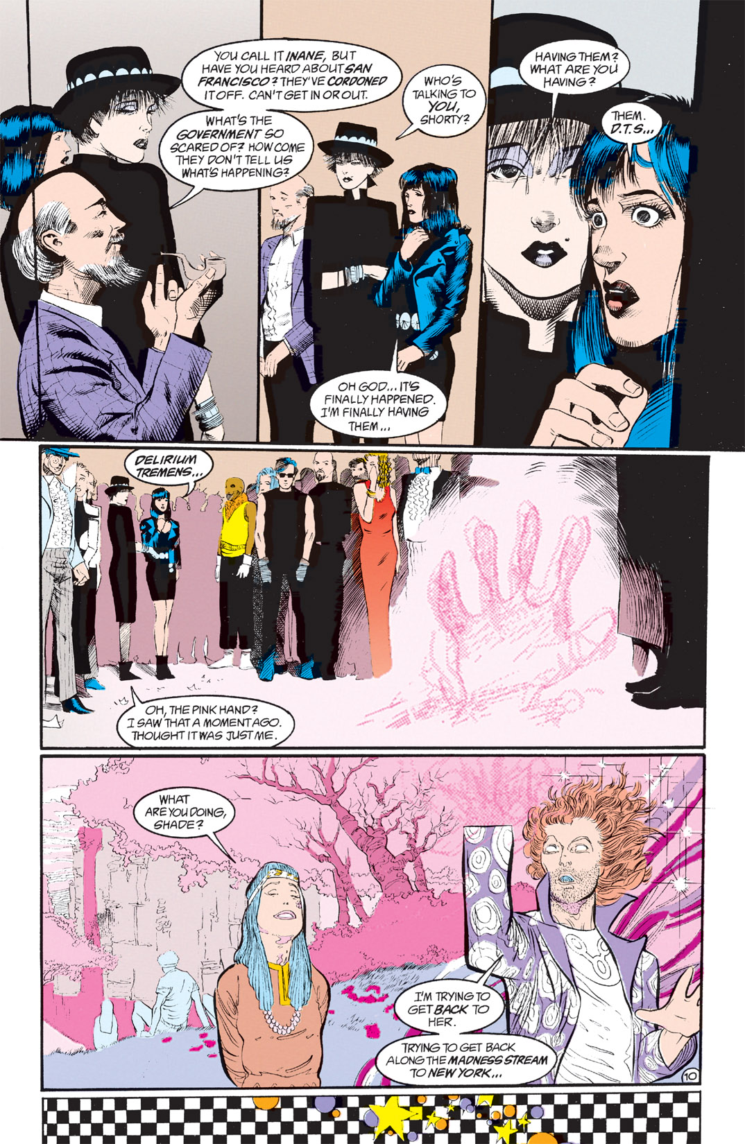 Read online Shade, the Changing Man comic -  Issue #8 - 9