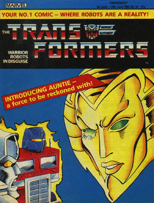 The Transformers (UK) 19 Page 1