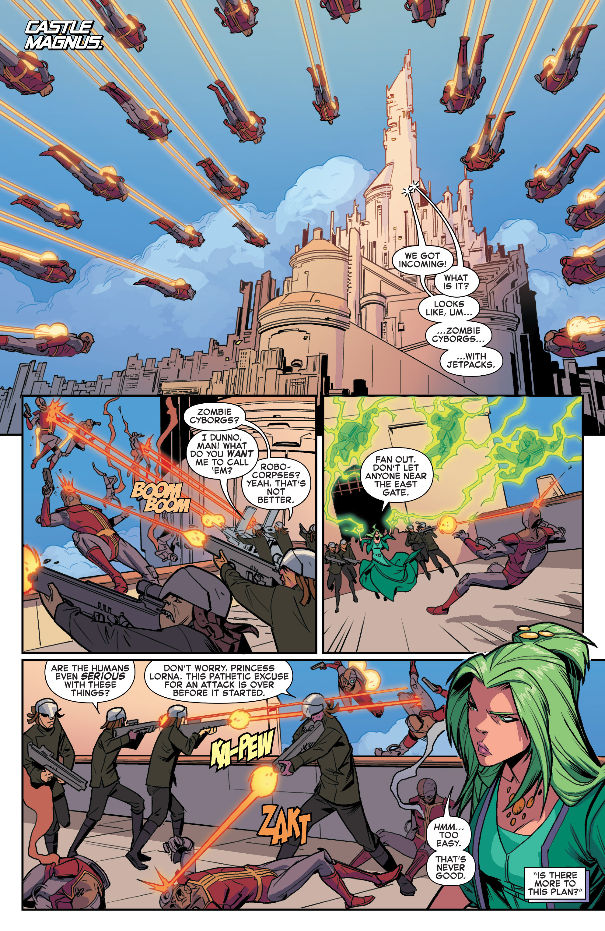 Read online House of M (2015) comic -  Issue #2 - 12