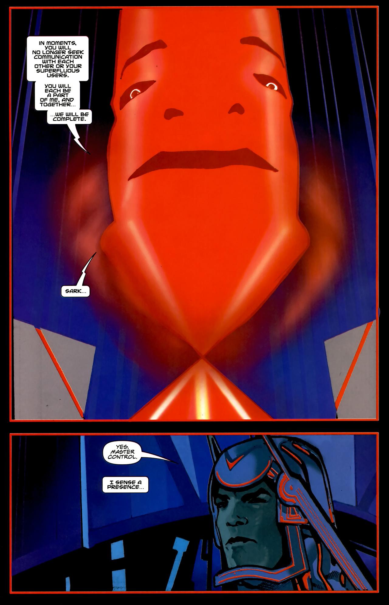 Read online TRON: Original Movie Adaptation comic -  Issue #2 - 26