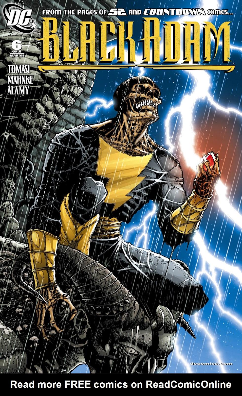 Black Adam: The Dark Age issue 6 - Page 1