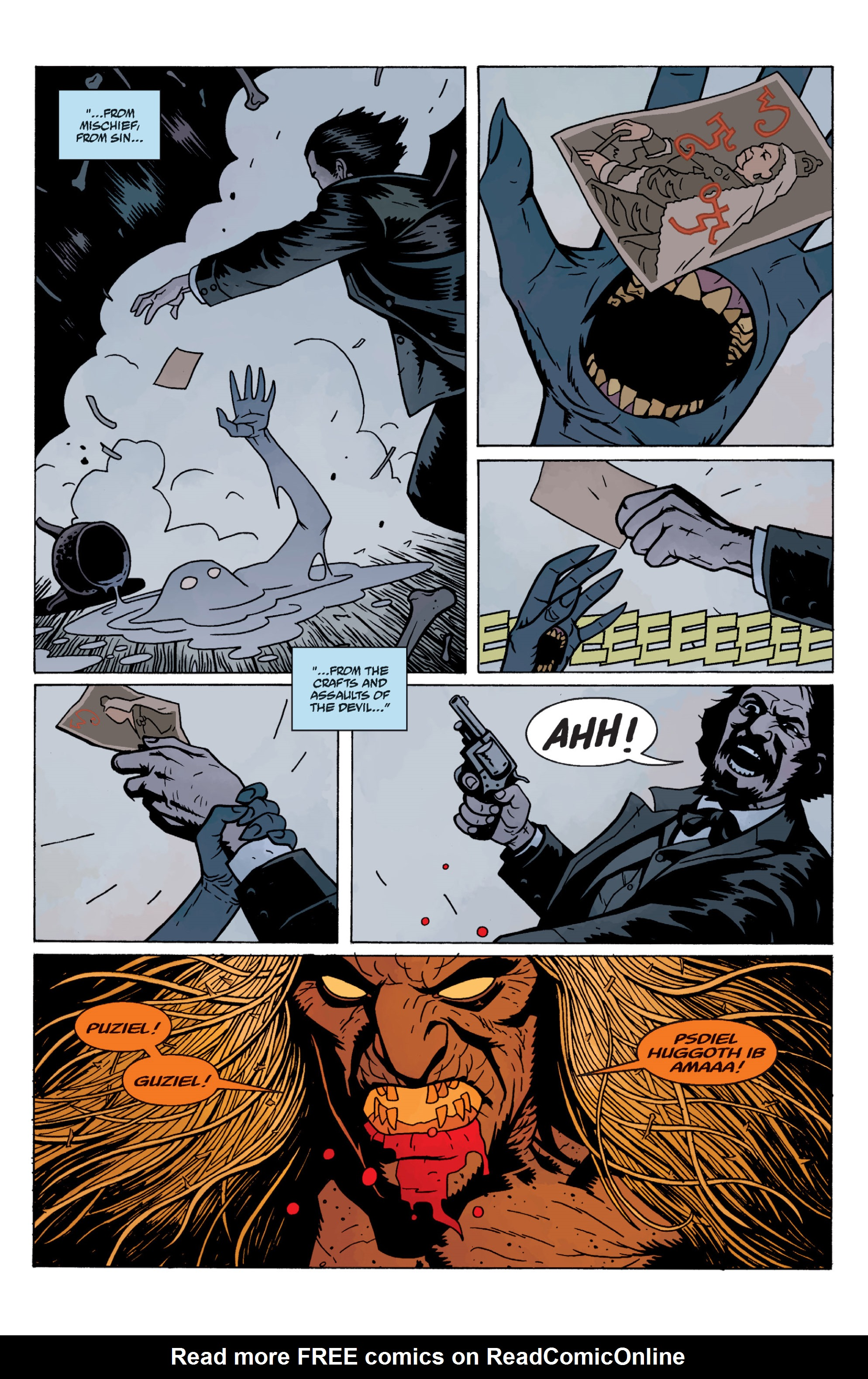 Read online Sir Edward Grey, Witchfinder: In the Service of Angels comic -  Issue # TPB - 133
