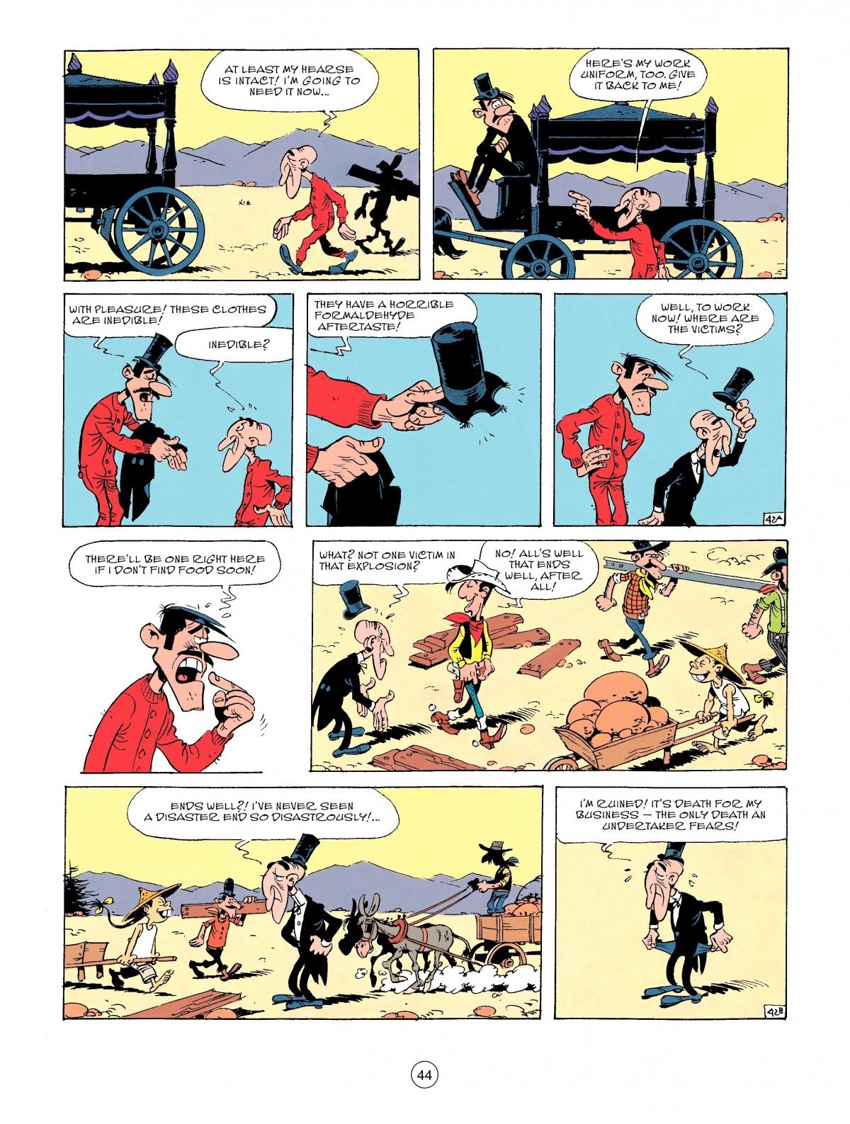 Read online A Lucky Luke Adventure comic -  Issue #53 - 44