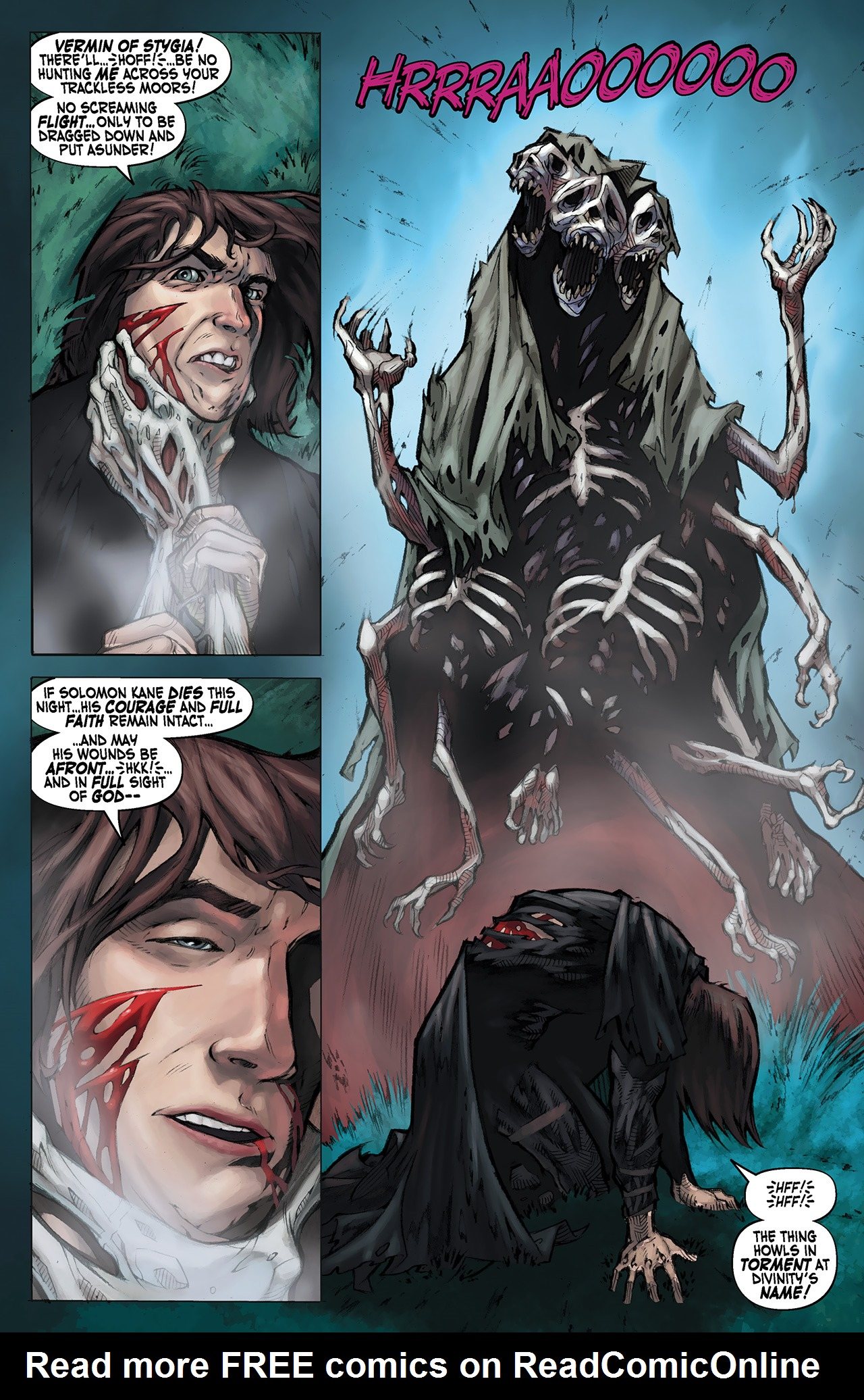 Read online Solomon Kane: Red Shadows comic -  Issue #1 - 12