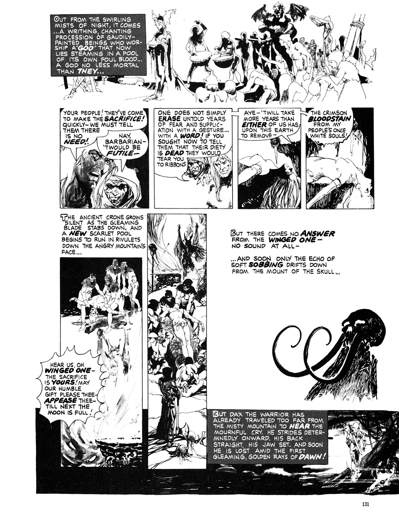 Read online Eerie Archives comic -  Issue # TPB 10 - 132