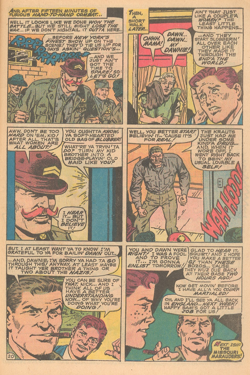 Read online Sgt. Fury comic -  Issue #69 - 29