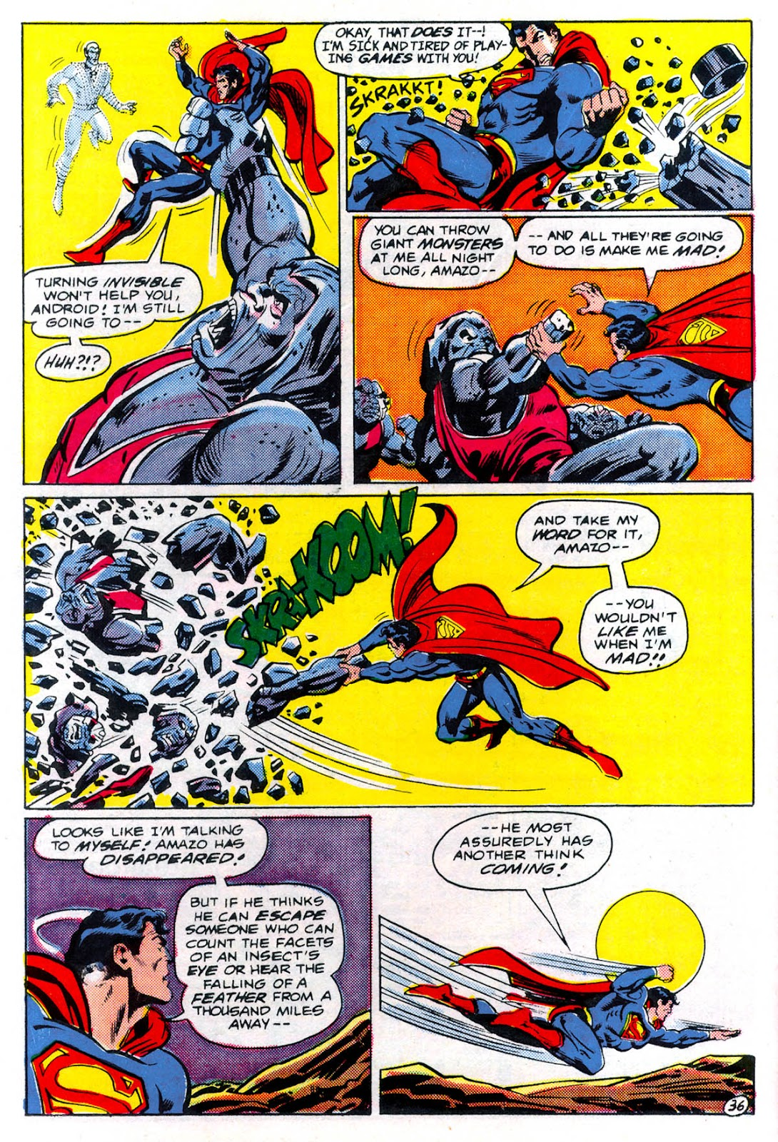 Read online Superman Special (1983) comic -  Issue #3 - 37