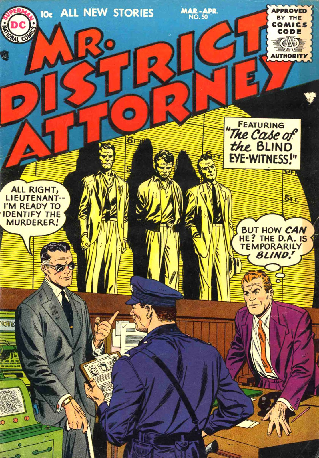 Mr. District Attorney issue 50 - Page 1