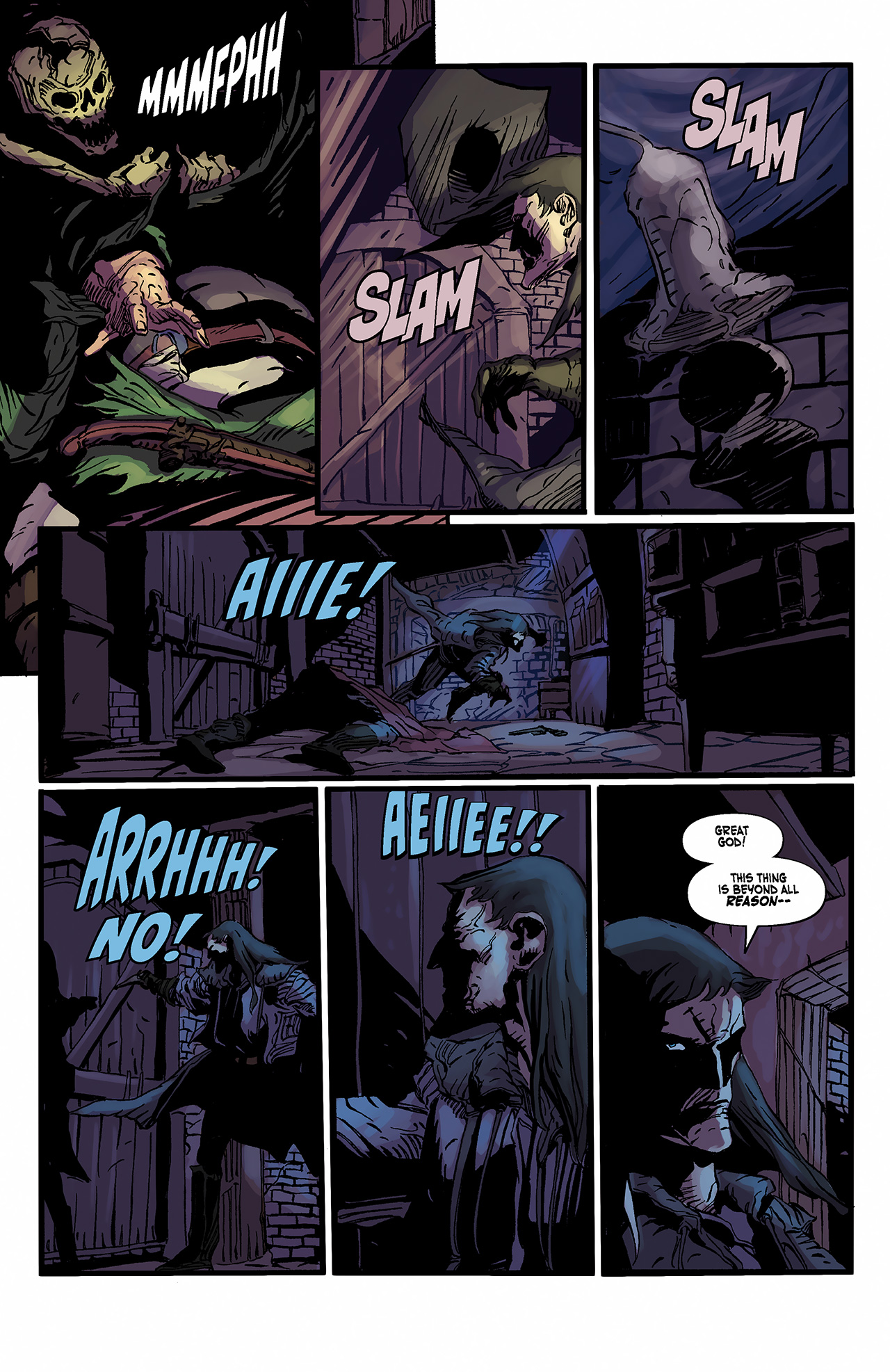 Read online Solomon Kane: Death's Black Riders comic -  Issue #2 - 22