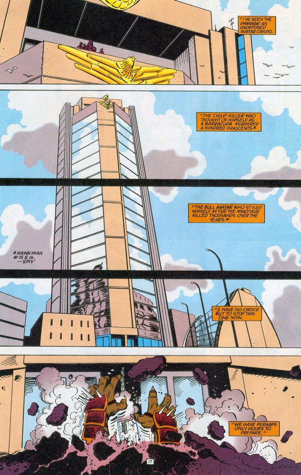 Hawkman (1993) Issue #24 #27 - English 19