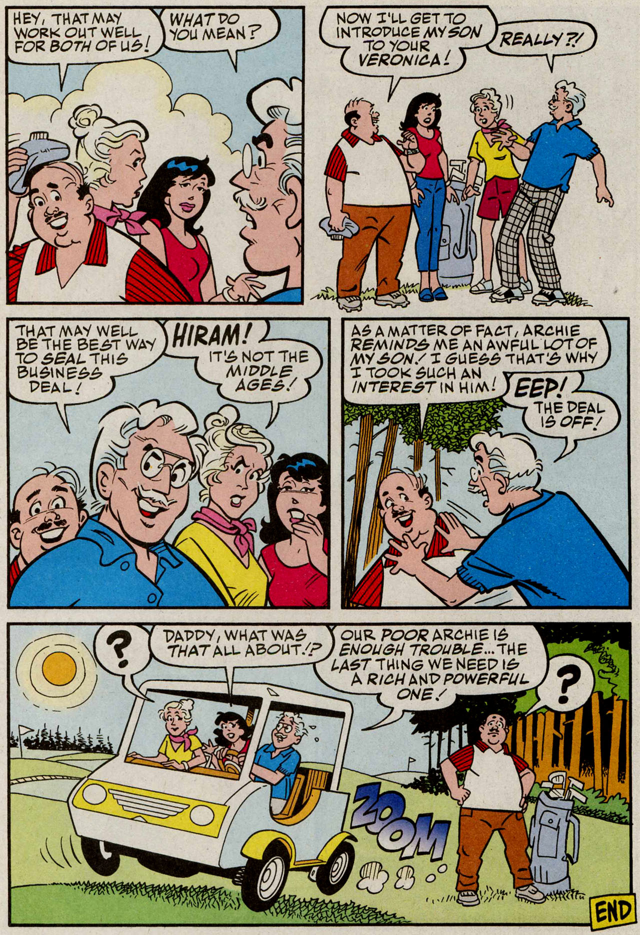 Read online Archie (1960) comic -  Issue #585 - 18