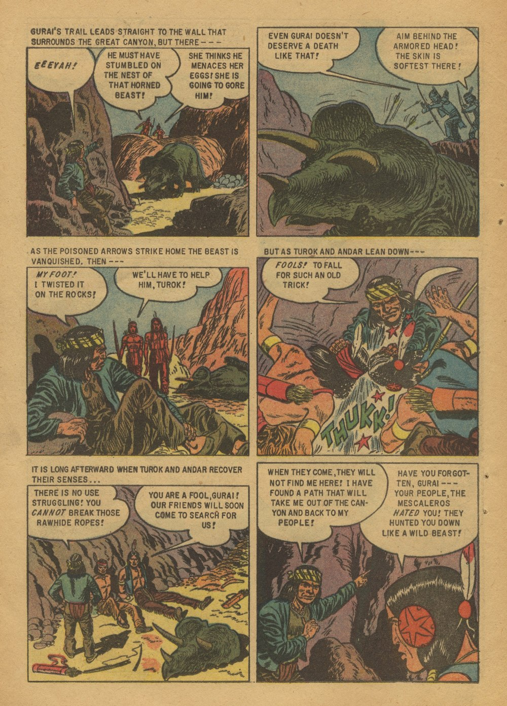 Read online Turok, Son of Stone comic -  Issue #12 - 12