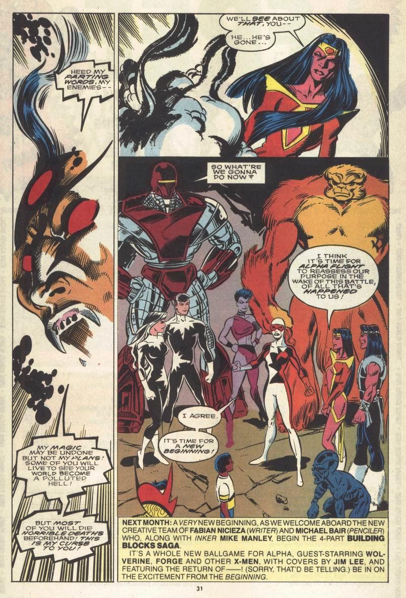 Read online Alpha Flight (1983) comic -  Issue #86 - 25