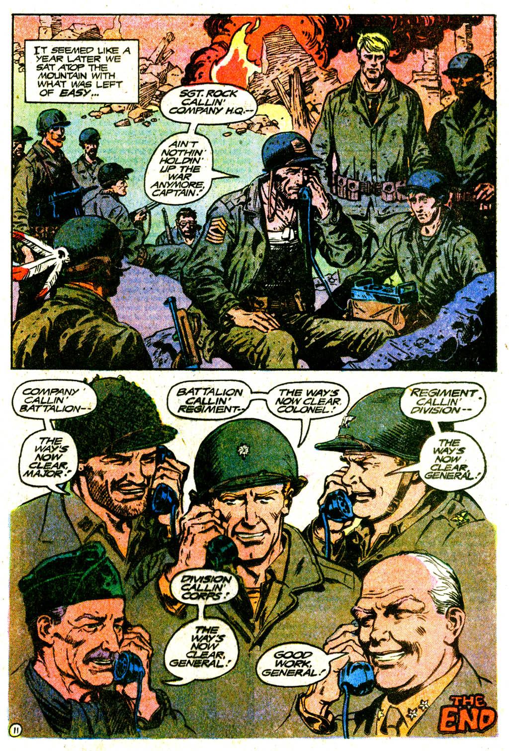 Read online Sgt. Rock comic -  Issue #334 - 20