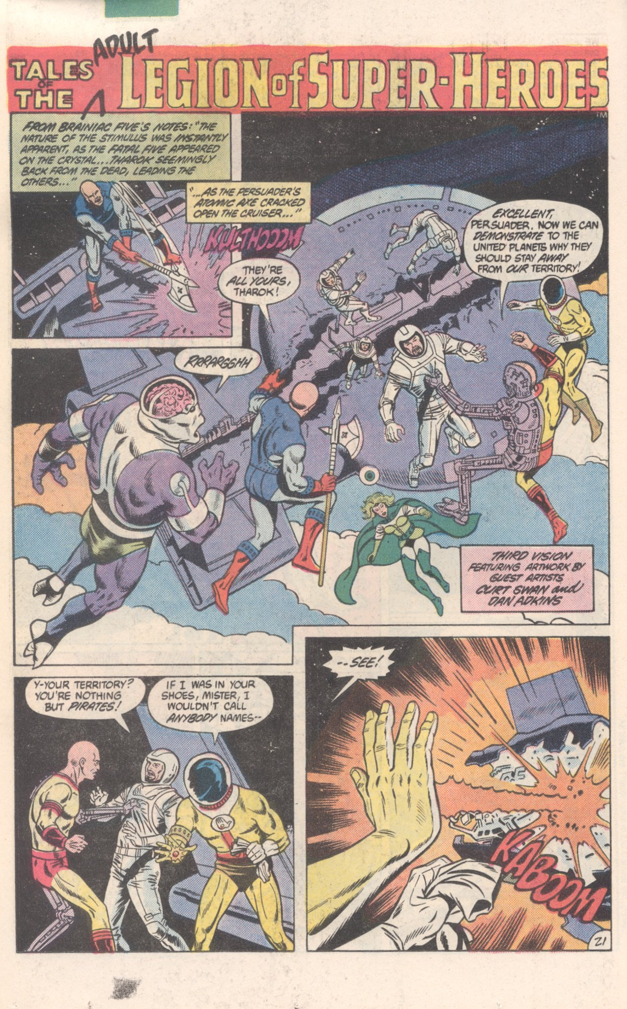 Legion of Super-Heroes (1980) 300 Page 21