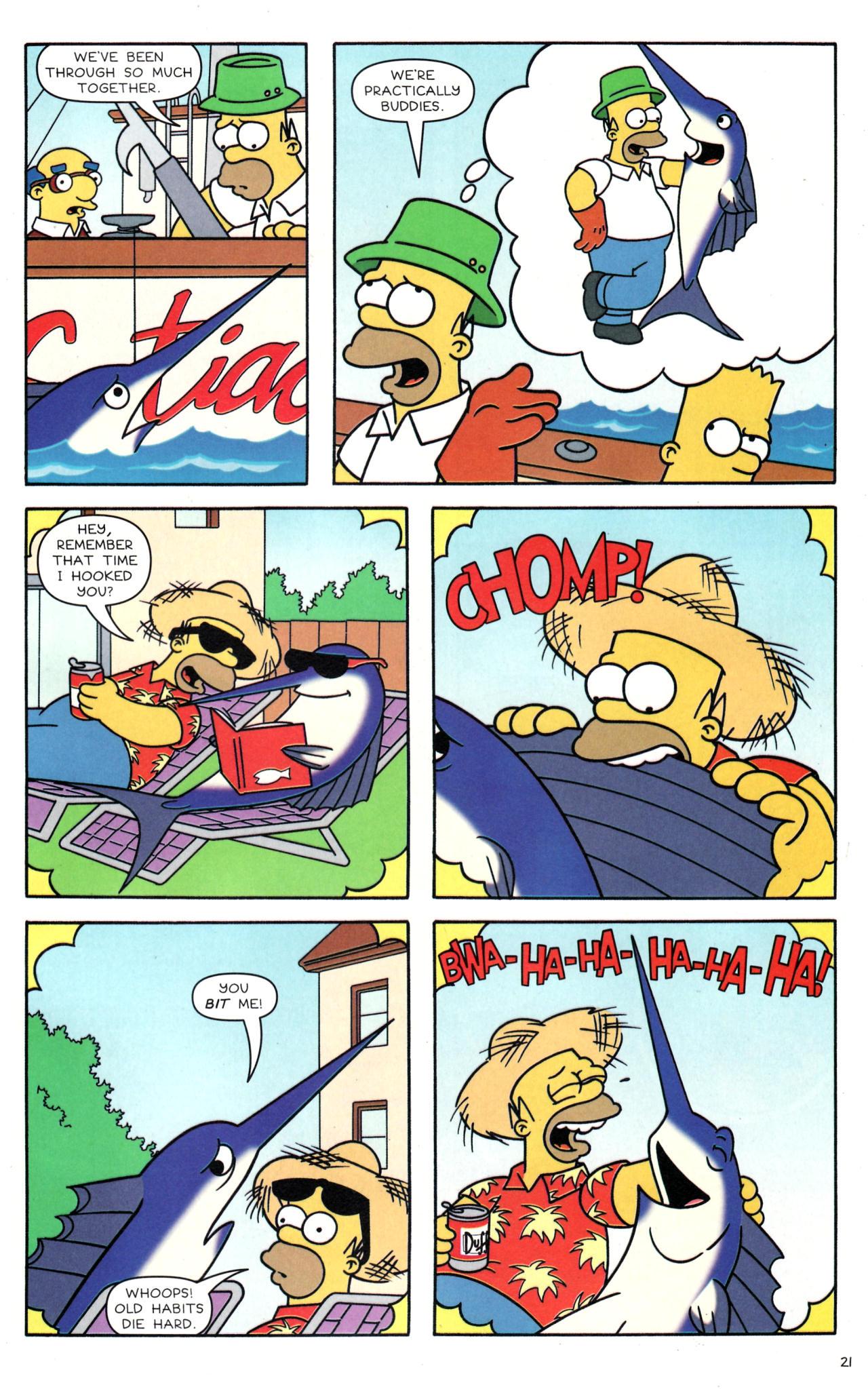 Read online Simpsons Comics comic -  Issue #135 - 18