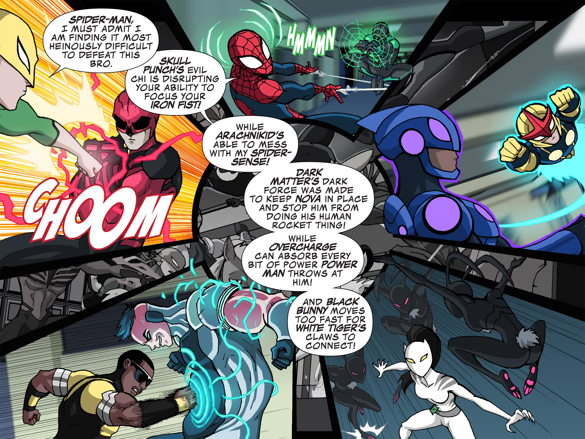 Read online Ultimate Spider-Man (Infinite Comics) (2015) comic -  Issue #24 - 4