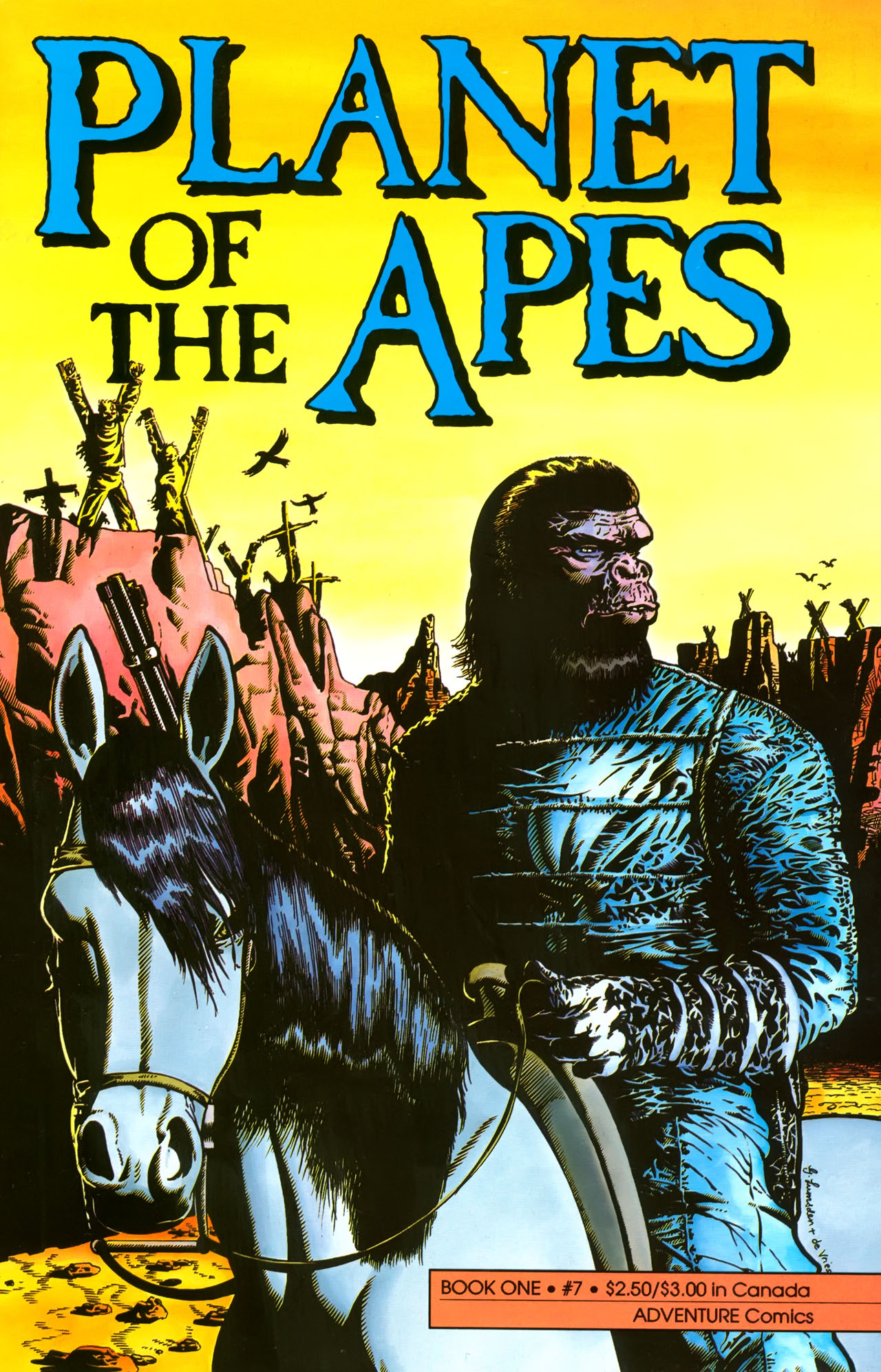 Planet of the Apes (1990) 7 Page 1