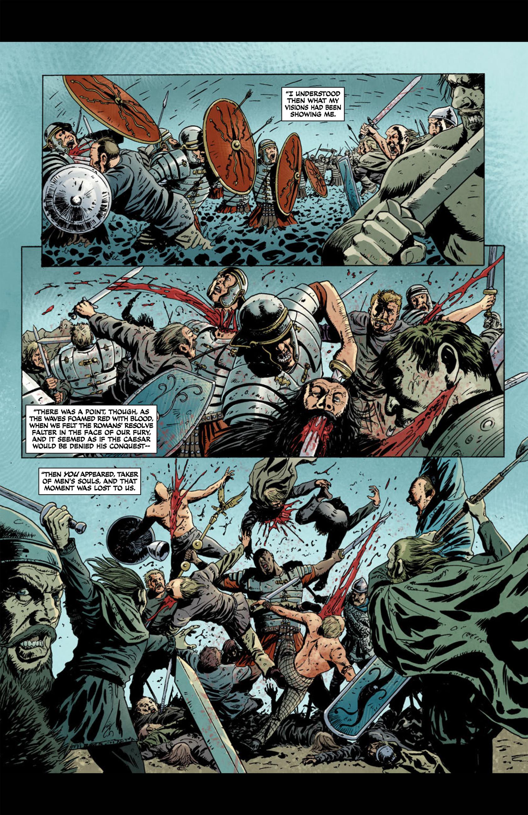 Read online Aquila comic -  Issue #1 - 8