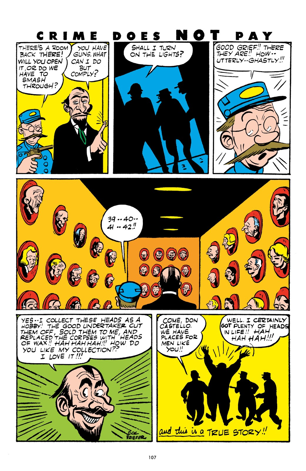 Read online Crime Does Not Pay Archives comic -  Issue # TPB 3 (Part 2) - 7