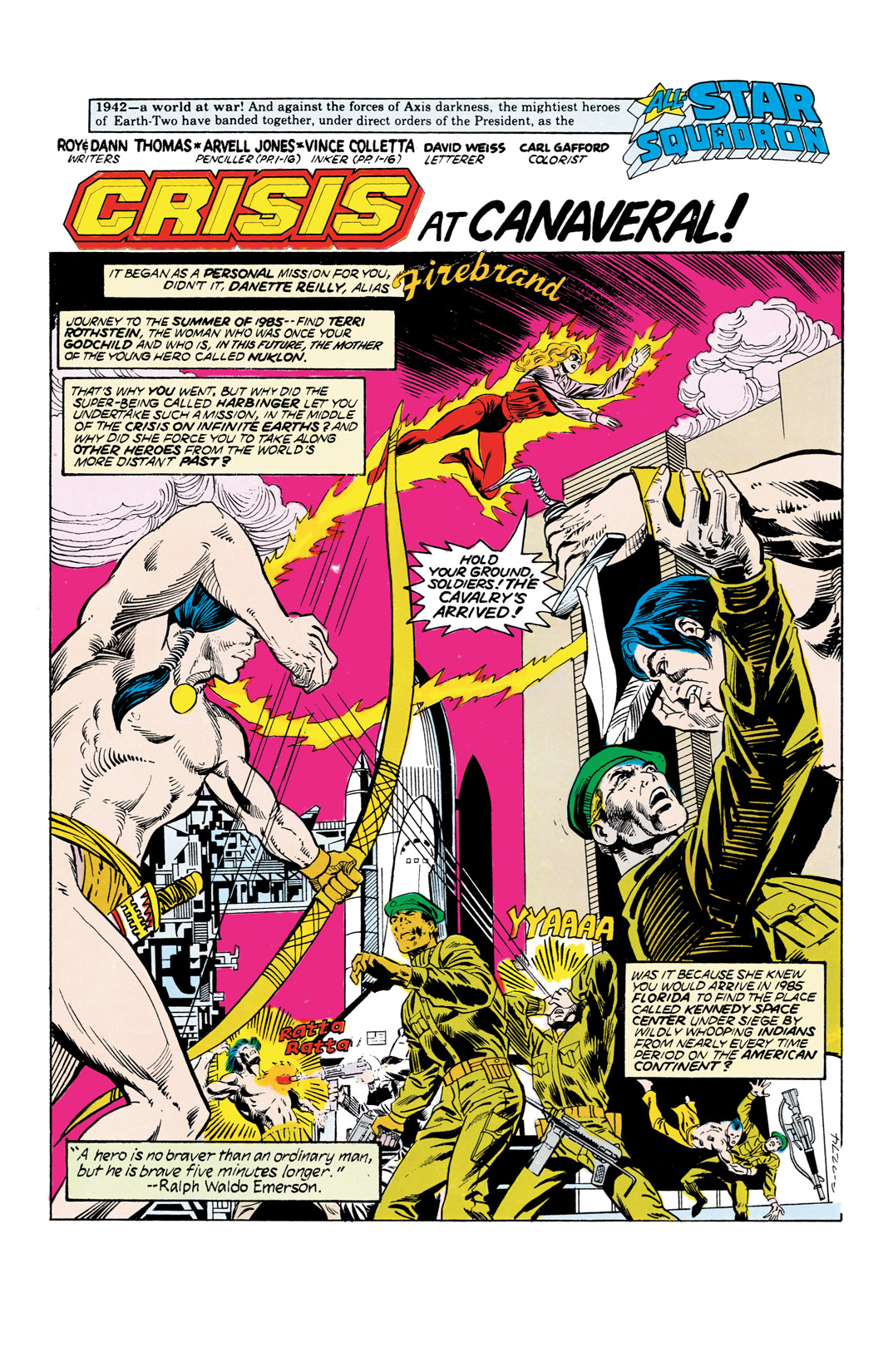 Read online All-Star Squadron comic -  Issue #55 - 2