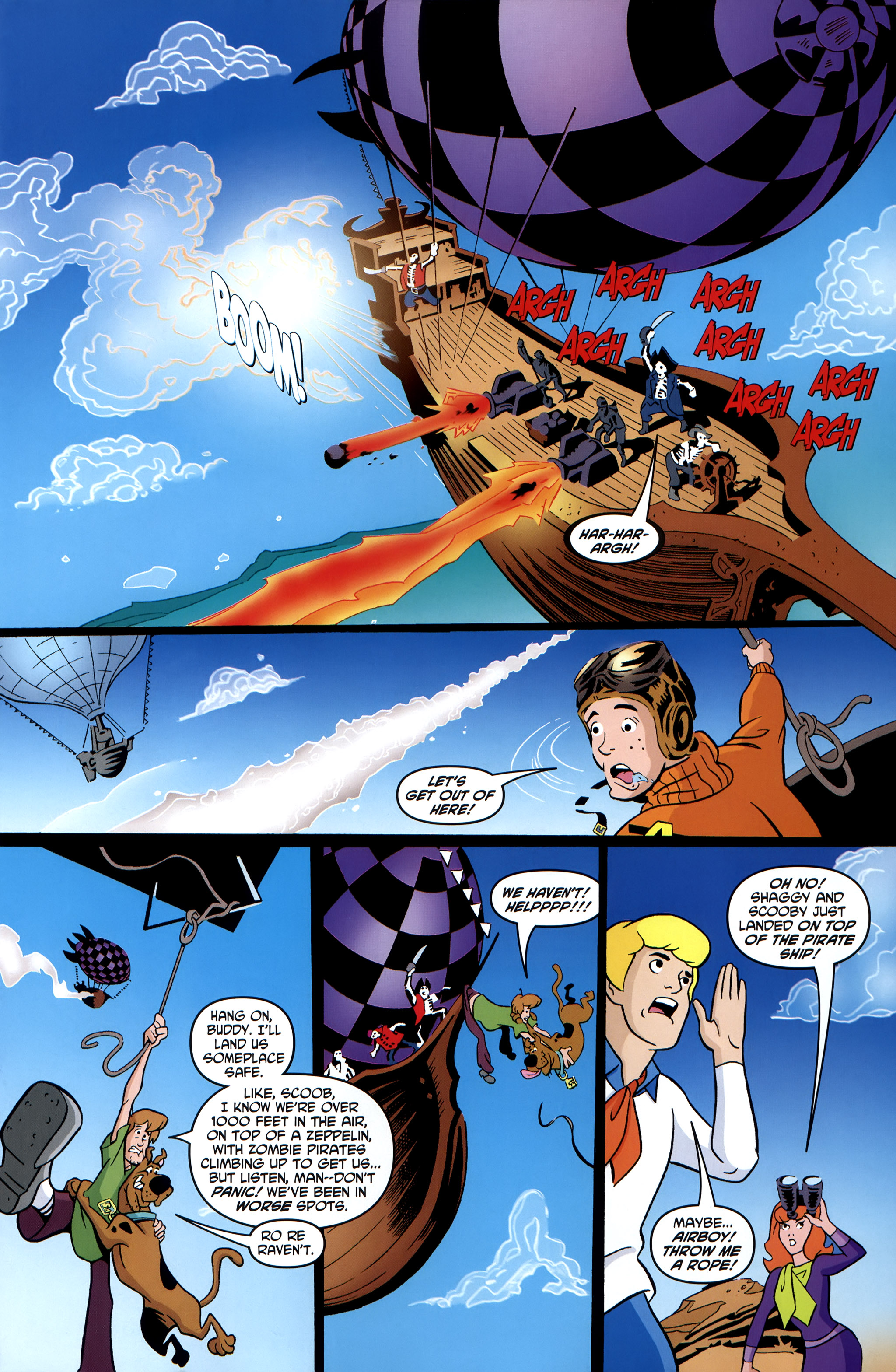 Read online Scooby-Doo: Where Are You? comic -  Issue #35 - 23