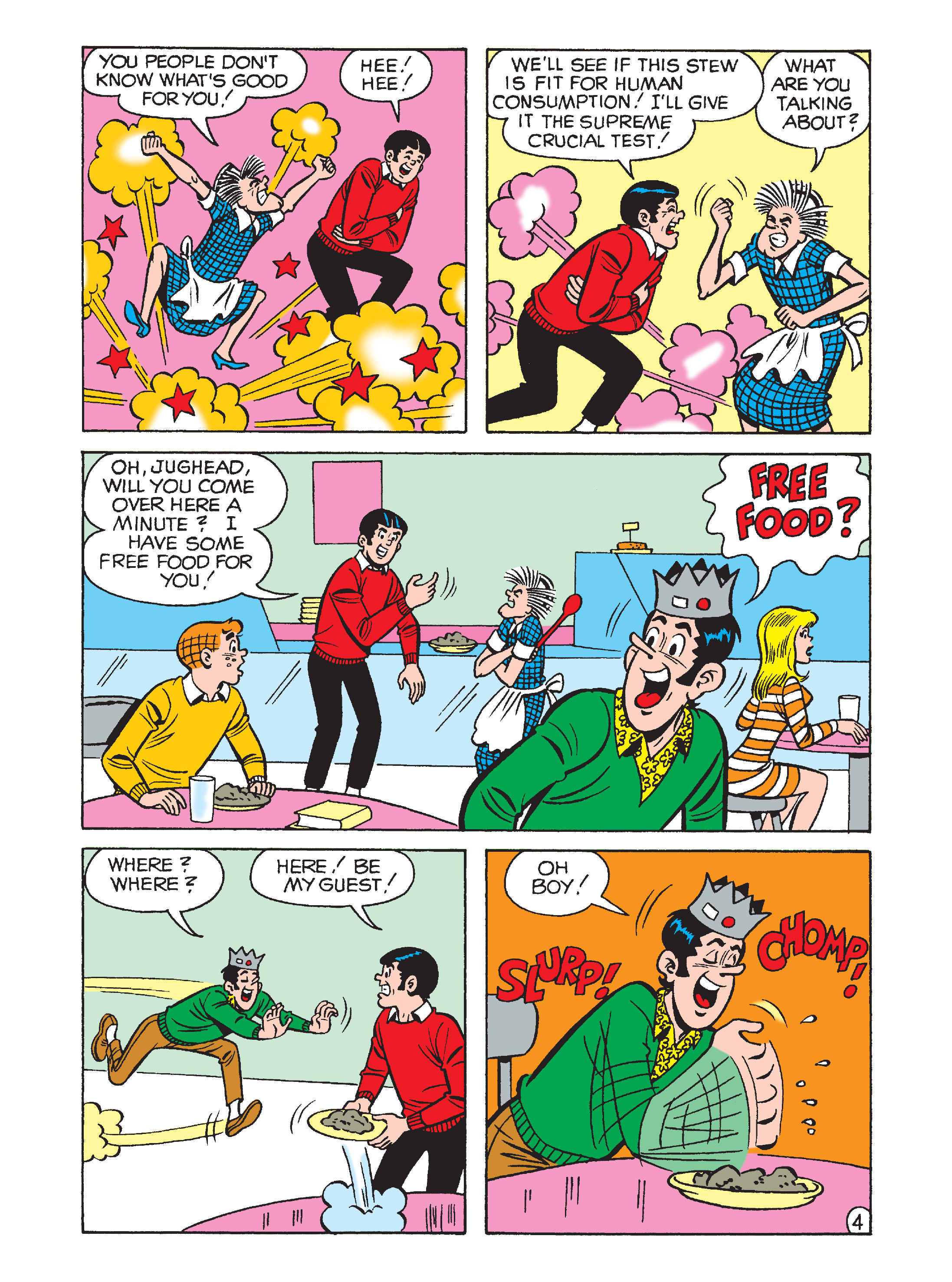 Read online Archie 1000 Page Comics Bonanza comic -  Issue #2 (Part 2) - 142