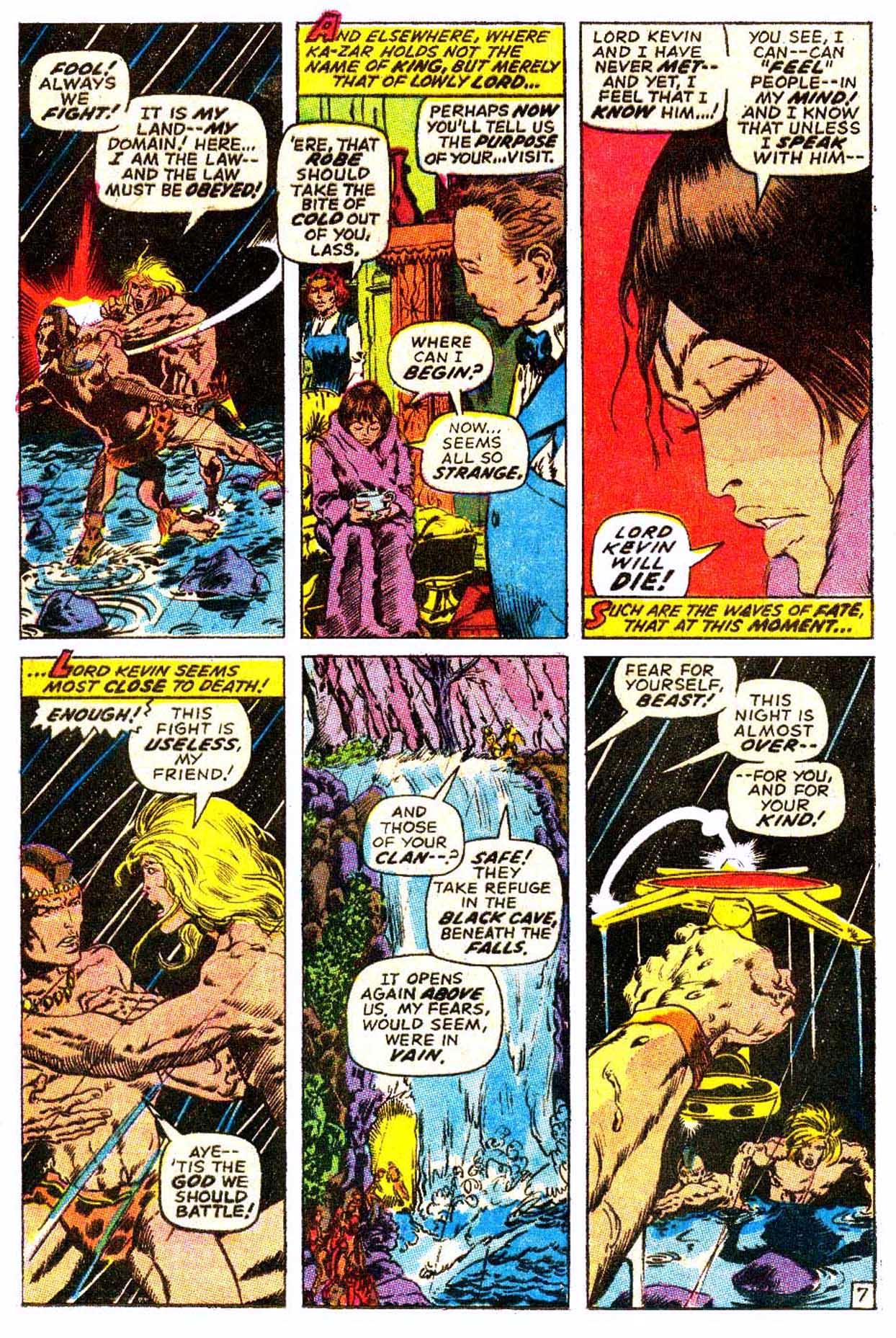 Read online Astonishing Tales (1970) comic -  Issue #6 - 18