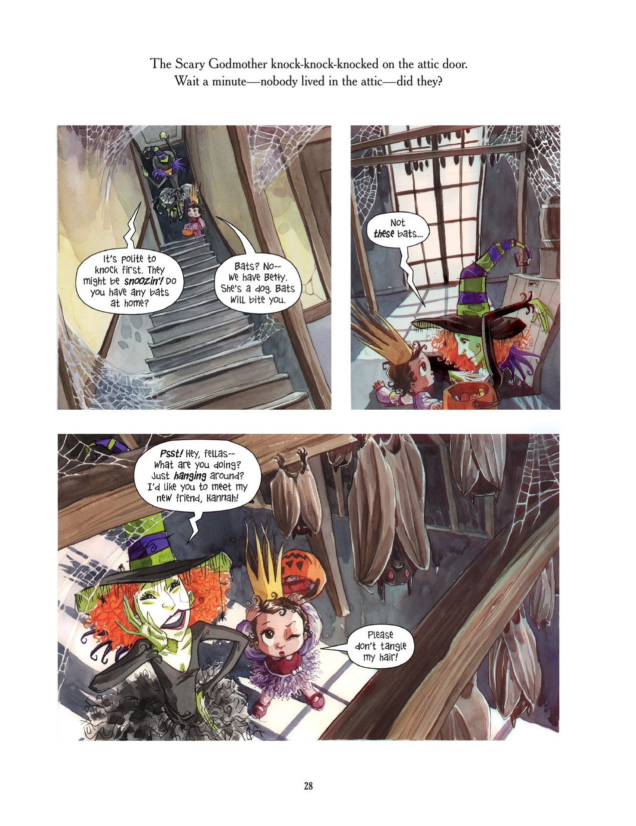 Read online Scary Godmother comic -  Issue # TPB - 28