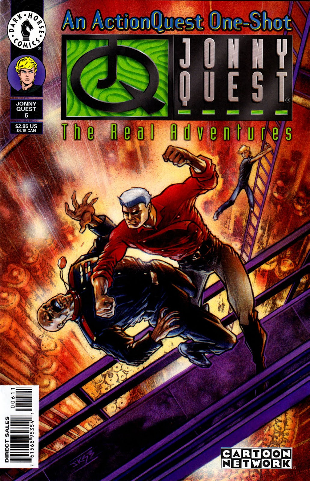 Read online The Real Adventures of Jonny Quest comic -  Issue #6 - 1