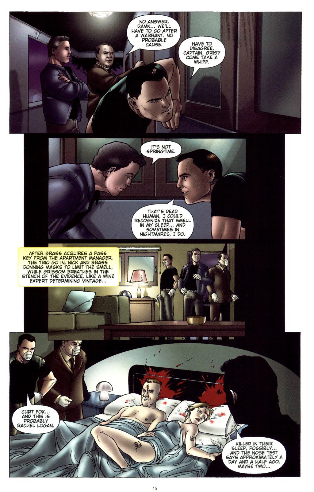 Read online CSI: Crime Scene Investigation: Bad Rap comic -  Issue #5 - 18