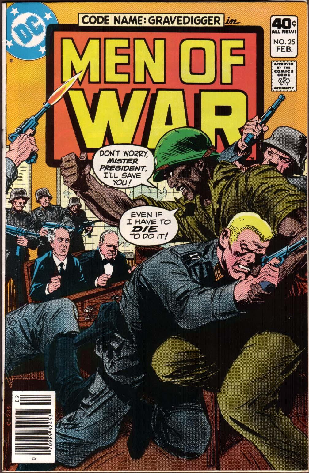 Men of War 25 Page 1