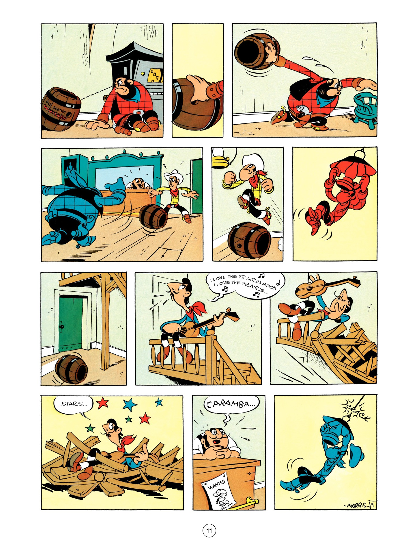 Read online A Lucky Luke Adventure comic -  Issue #55 - 11