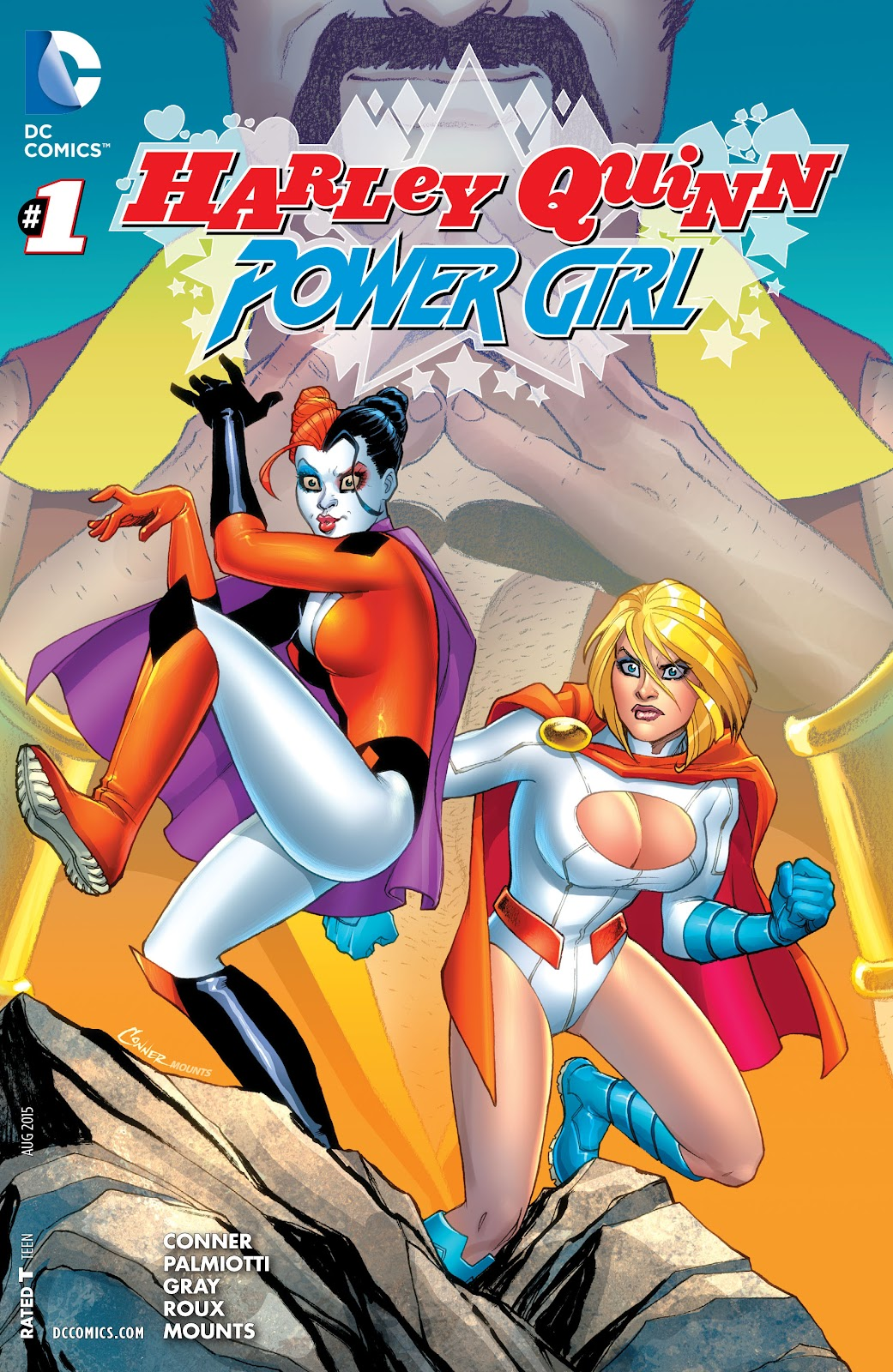 Harley Quinn and Power Girl 1 Page 1