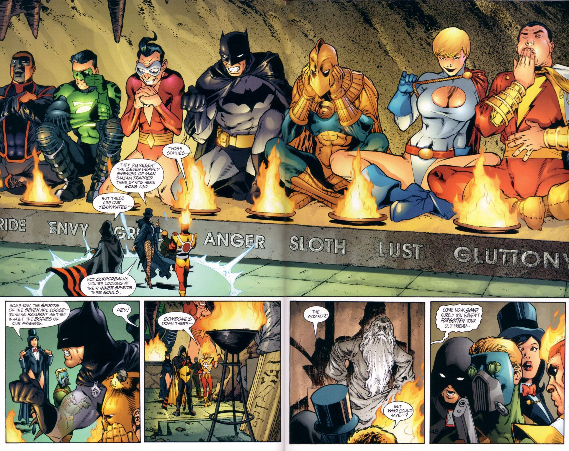 Read online JLA/JSA: Virtue and Vice comic -  Issue # TPB - 51
