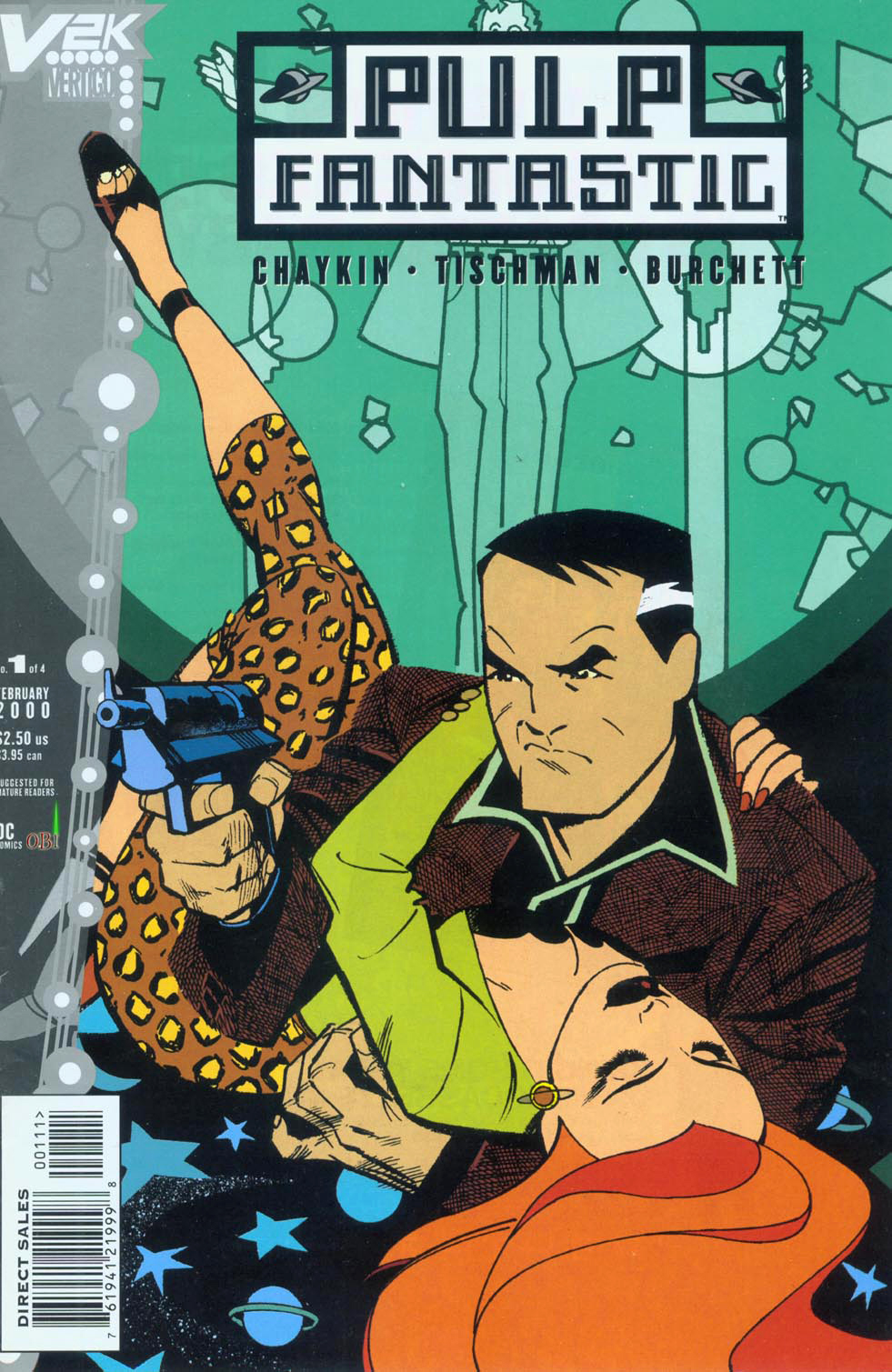 Read online Pulp Fantastic comic -  Issue #1 - 1