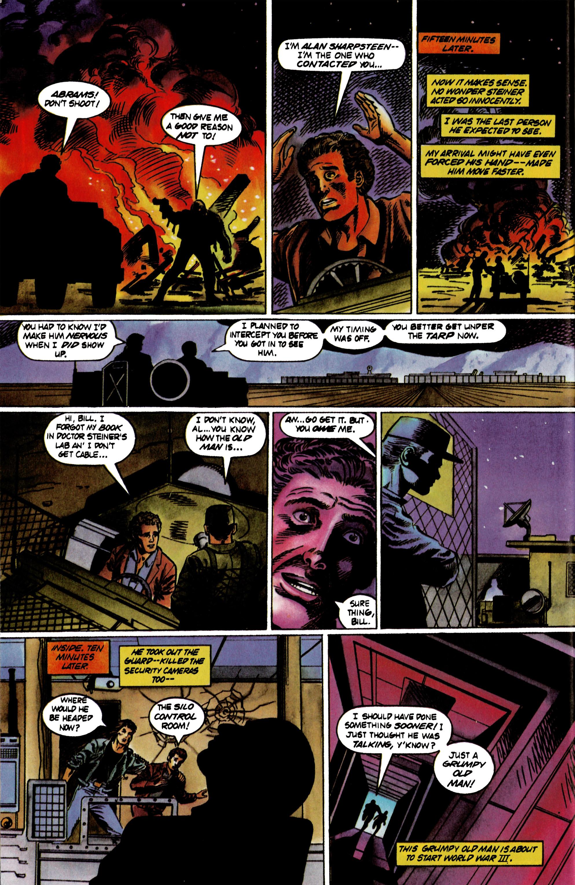 Read online Eternal Warrior (1992) comic -  Issue #21 - 20