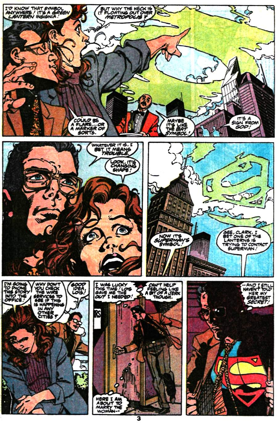 Read online Adventures of Superman (1987) comic -  Issue #473 - 5