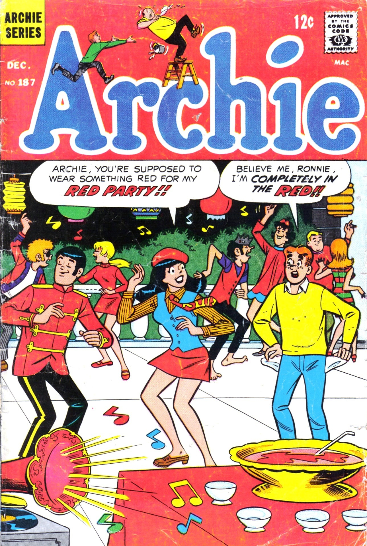 Read online Archie (1960) comic -  Issue #187 - 1