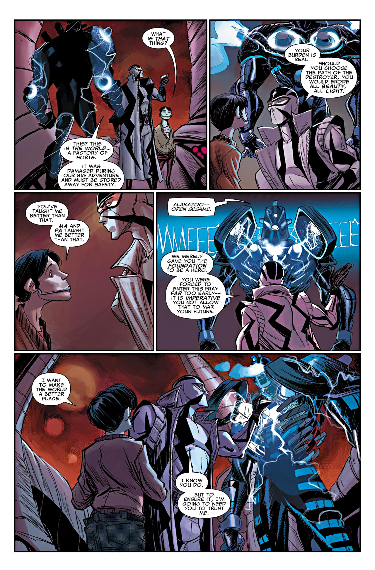 Read online Uncanny X-Force (2010) comic -  Issue #19 - 5