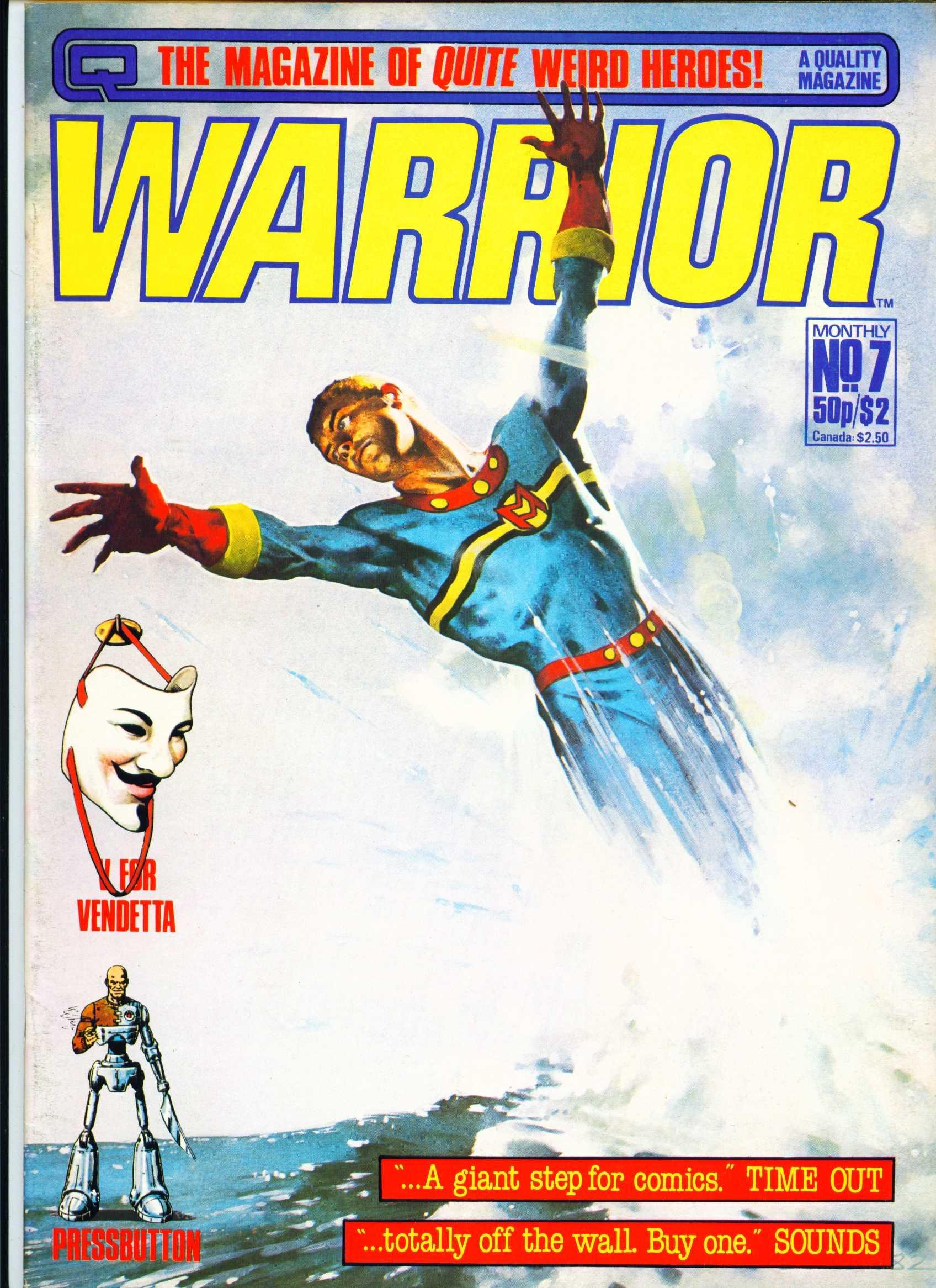 Warrior 7 Page 1